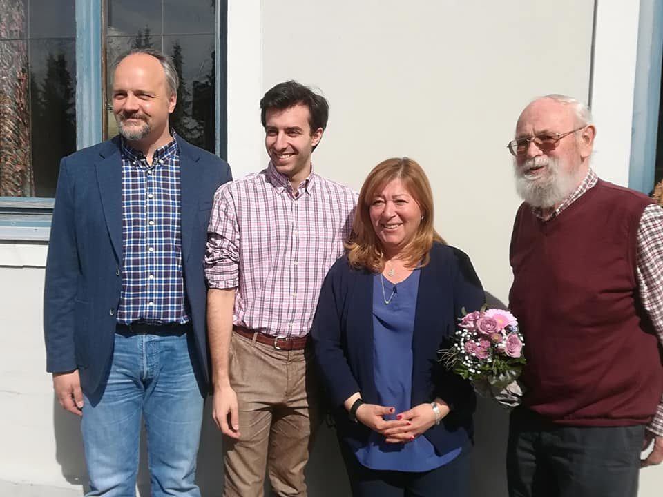 v.l.n.r.: Markus Kubatschka, Martin Valdés- Stauber, Europakandidat, Ilknur Altan, Europakandidatin, Leo Wiedemann